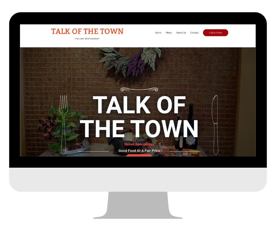 Talk Of The Town Website